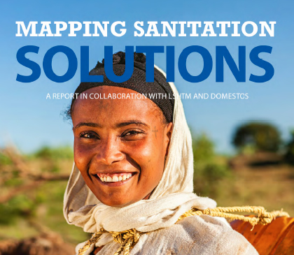 Mapping sanitation solutions front page