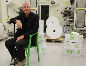 Peepoo inventor is nominated to Sweden's oldest technical award