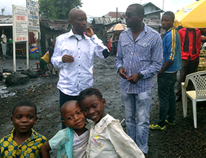 Caritas implements Peepoo in Goma slum, The Democratic Republic of Congo