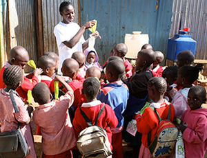 United Postcode Lotteries secure safe sanitation for 10 000 more school children in Kenya